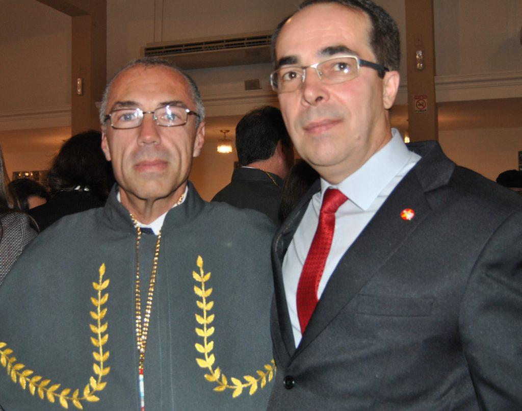 Cel Araujo Gomes Jr e Cel Sérgio Luís Sell