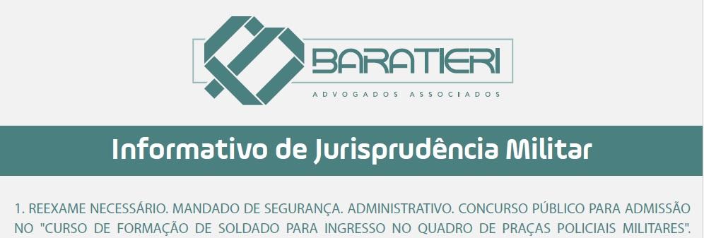 Informativo de Jurisprudência 1