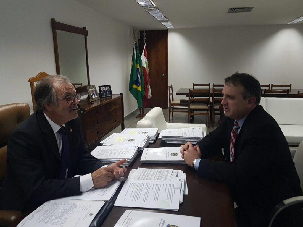 Martinez com Dalírio Beber